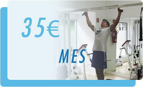 En gimnasio Do I! Tu mes con nosotros cuesta 35 €