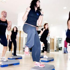 Step con coreografía