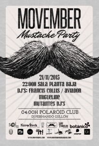 Movember 2015 en Granada