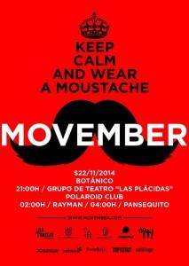 Movember 2014 en Granada